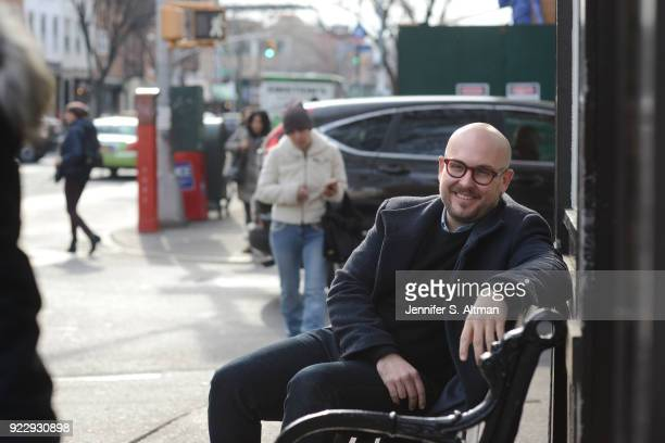 Playwright Robert Askins is photographed for Boston Globe on December 13 2016 in Brooklyn New York