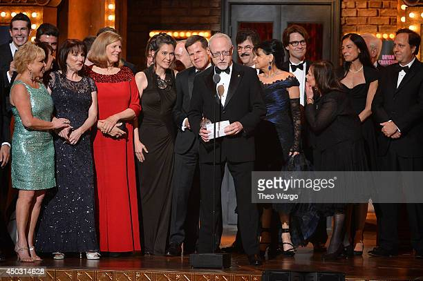 Playwright Robert Schenkkan accepts the award for Best Play for All The Way onstage during the 68th Annual Tony Awards at Radio City Music Hall on...