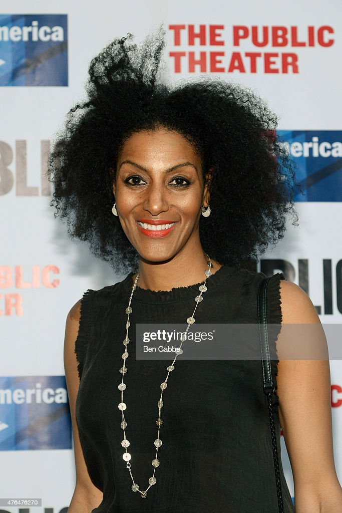 Playwright Sarah Jones attends The Public Theater's Annual Gala at Delacorte Theater on June 9, 2015 in New York City.