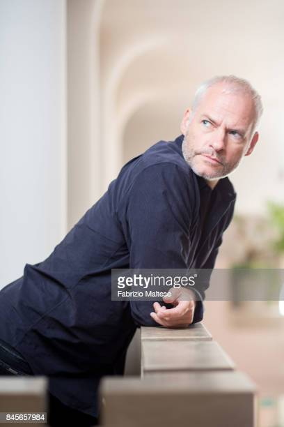 Playwright screenwriter and film director Martin McDonagh is photographed on September 4 2017 in Venice Italy
