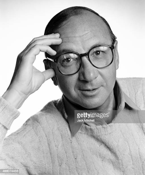 Playwright screenwriter author Neil Simon photographed in 1981
