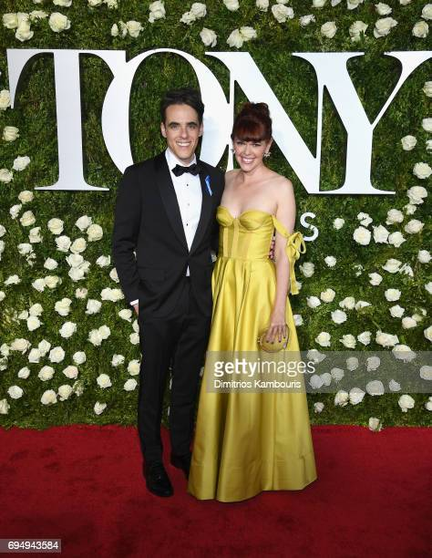 Playwright Steven Levenson attends the 2017 Tony Awards at Radio City Music Hall on June 11 2017 in New York City