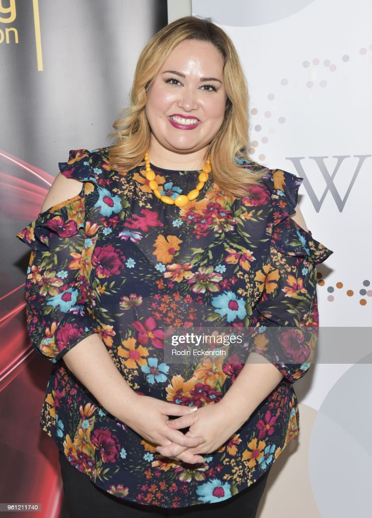 Playwright Tanya Saracho poses for portrait at the Women in Entertainment and The Television Academy Foundation's Inaugural Women in Television Summit at Saban Media Center on May 21, 2018 in North Hollywood, California.