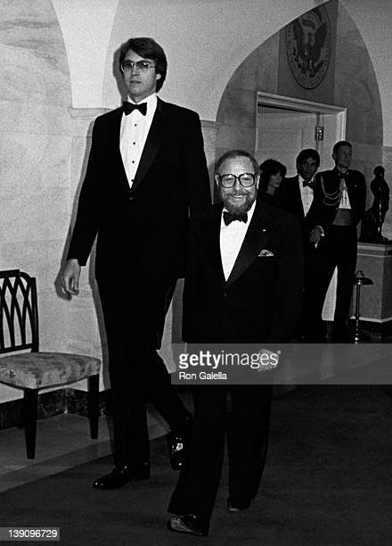 Playwright Tennessee Williams attends Kennedy Center Honors Reception Dinner on December 6, 1981 at the State Department in Washington, D.C.
