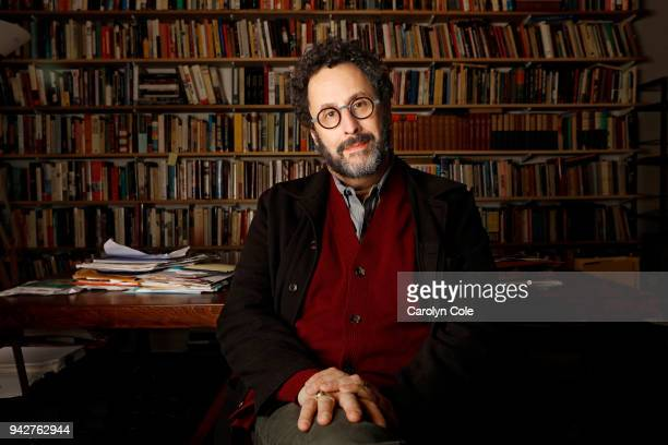 Playwright Tony Kushner is photographed for Los Angeles Times on March 23 2018 in New York City PUBLISHED IMAGE CREDIT MUST READ Carolyn Cole/Los...