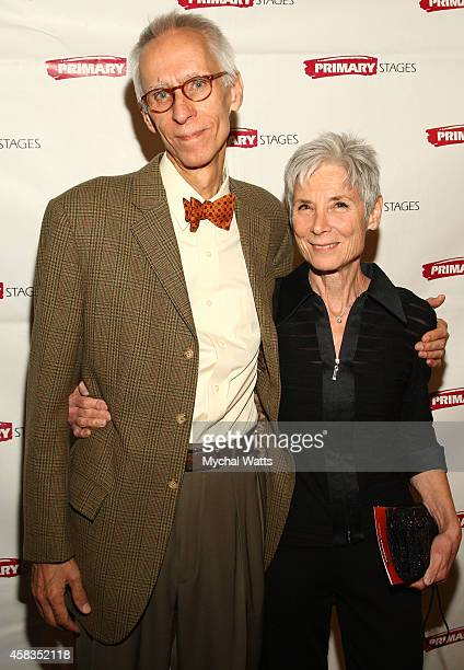 Playwrite David Ives and Wife attend the 2014 Primary Stages Gala at 583 Park Avenue on November 3 2014 in New York City