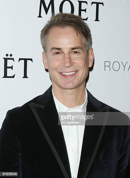 Playwrite Geoffrey Nauffts attends a VIP performance of Next Fall on Broadway at the Helen Hayes Theatre on March 10 2010 in New York City