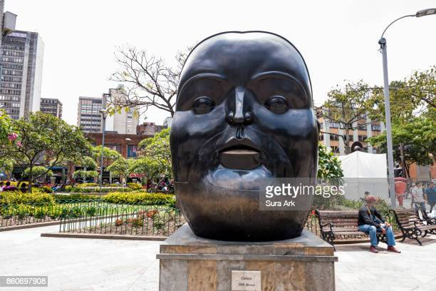 plaza botero, medellin, colombia. - fernando botero stock photos and pictures