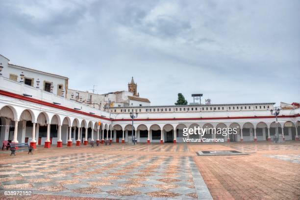 plaza de abastos de carmona (seville, spain) - carmona fotografías e imágenes de stock