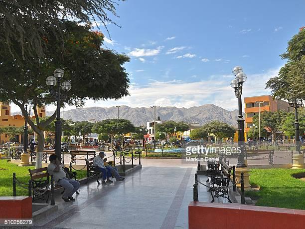 Plaza de Armas, Nazca, Peru
