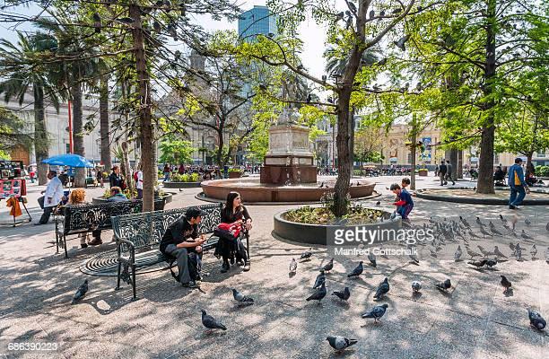 Plaza de Armas Santiago