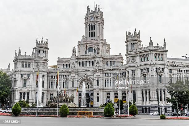 Plaza de Cibeles, Madrid, España