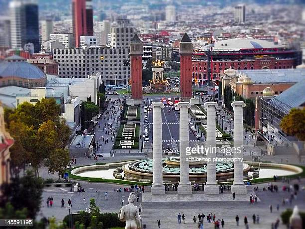 Plaza de Espana in Barcelona