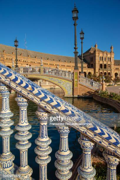 Plaza de Espana, Seville, Andalusia, Spain, Europe