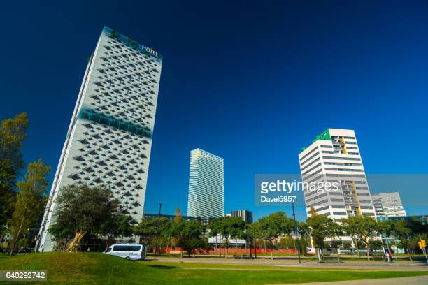 Plaza De Europa Business District in Barcelona