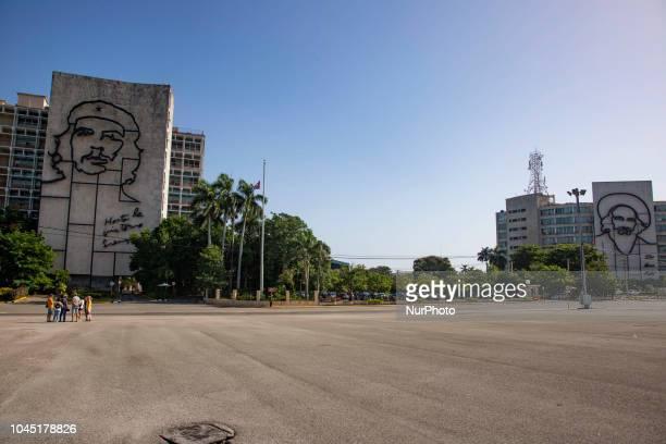 Plaza de la Revolución or Revolution Square is a municipality and square in Havana Cuba The Plaza is the 31st lardest square in a city in the world...