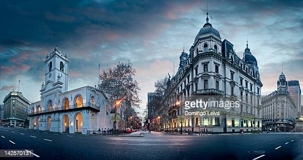 plaza de mayo square - buenos aires stock pictures, royalty-free photos & images
