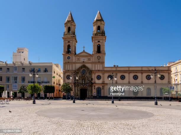 Plaza de San Antonio, Cadiz, Spain