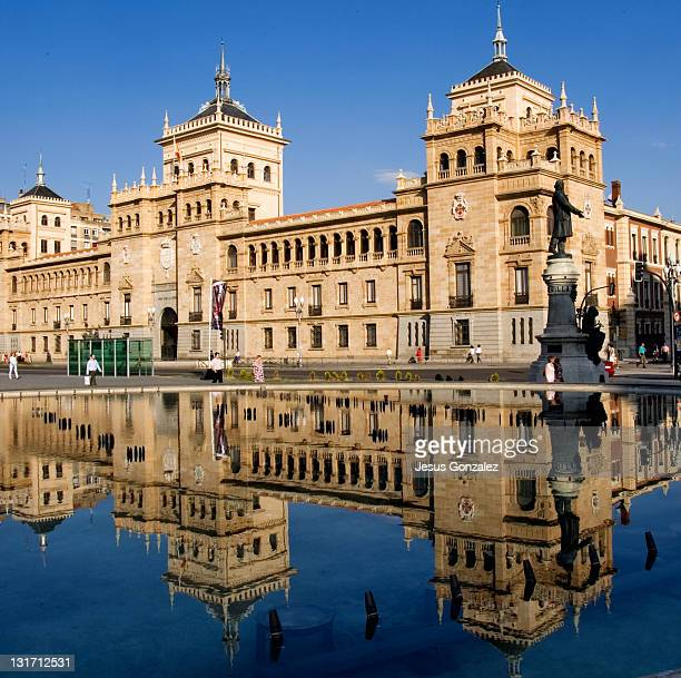 plaza de zorrilla - valladolid spanish city stock pictures, royalty-free photos & images