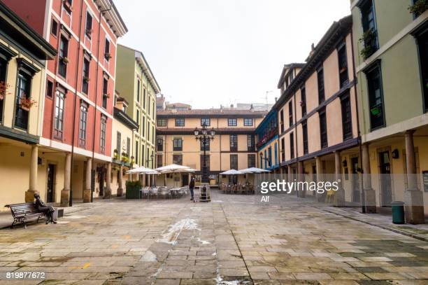 Plaza del Fontán in Oviedo, Asturias, Spain
