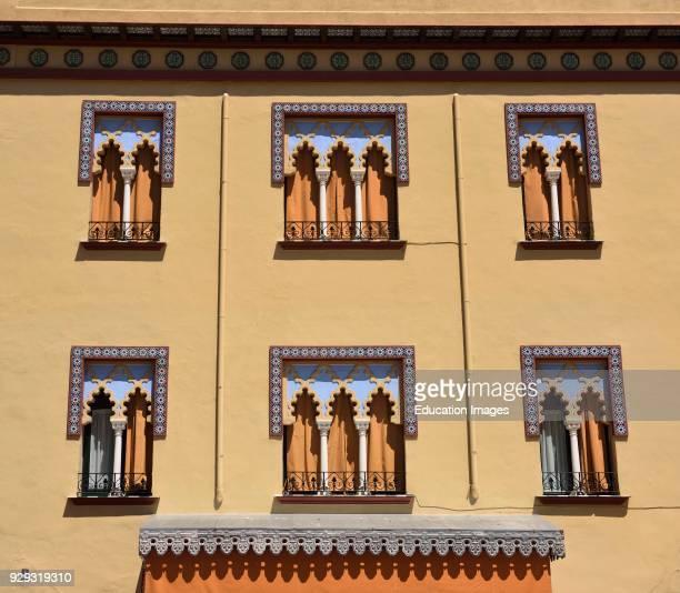 Plaza del Triumfo Puente shop front facade in Moorish style Cordoba Spain