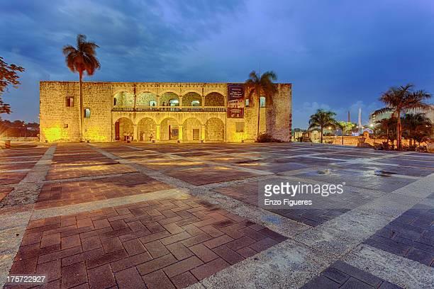 Plaza España and the Museum Alcazar de Colon
