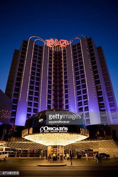 Plaza Hotel and Casino Nighttime