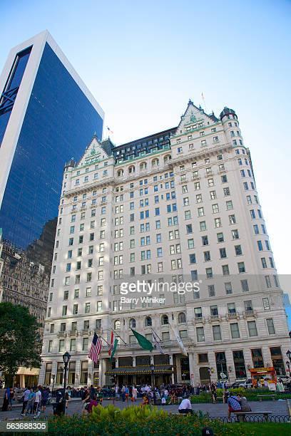 plaza hotel, midtown west, nyc - hotel plaza manhattan stock-fotos und bilder