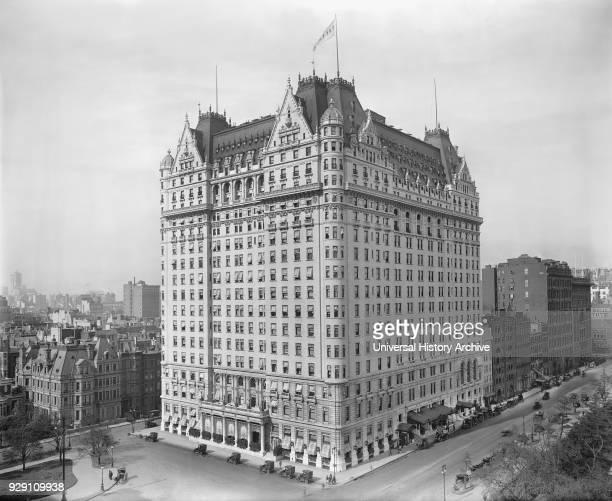 Plaza Hotel New York City New York USA Detroit Publishing Company 1910