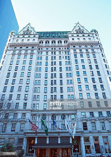 plaza hotel - hotel plaza manhattan stock-fotos und bilder
