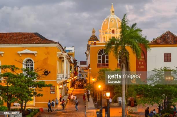 Plaza en Cartagena, Colombia
