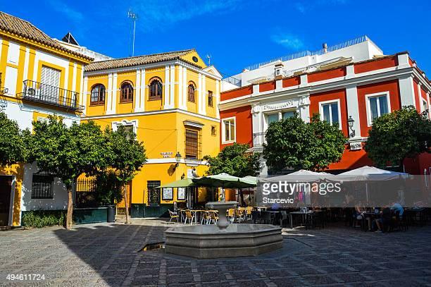 Plaza in Seville, Spain