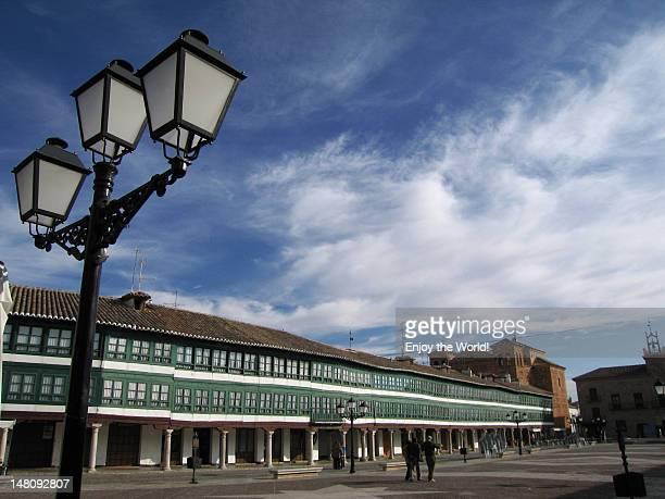 plaza mayor, almagro - capitais internacionais imagens e fotografias de stock