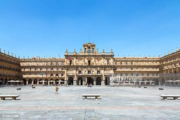 Plaza Mayor at daytime, Salamanca, Spain