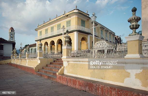 Plaza Mayor Brunet Palace now houses the National Museum of Romanticism 17th19th century Trinidad Sancti Spiritus Cuba