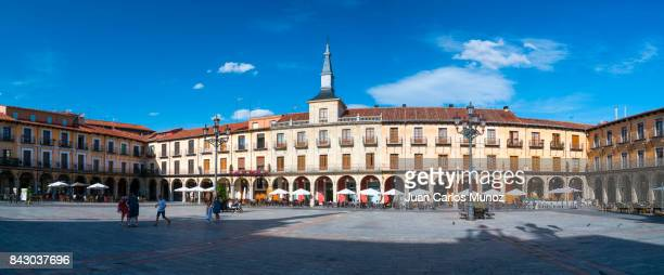 Plaza Mayor, Leon city, Leon province, Castilla y Leon, Spain, Europe