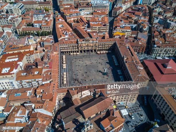plaza mayor, madrid - madrid stock pictures, royalty-free photos & images