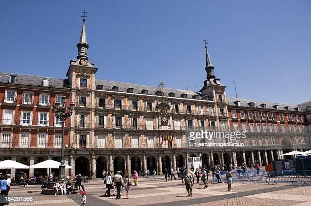 Plaza Mayor, Madrid, Spain.
