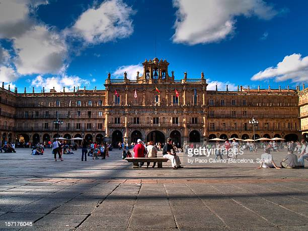 Plaza Mayor of Salamanca. rest