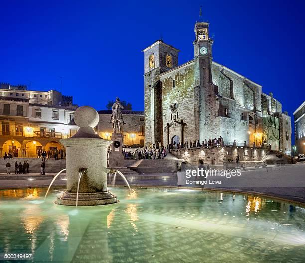 Plaza Mayor of Trujillo, Caceres