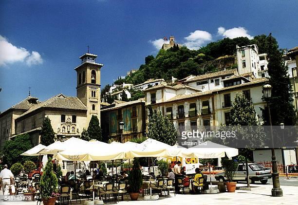 Plaza Nuova mit Kirche Santa Ana Juli 1998