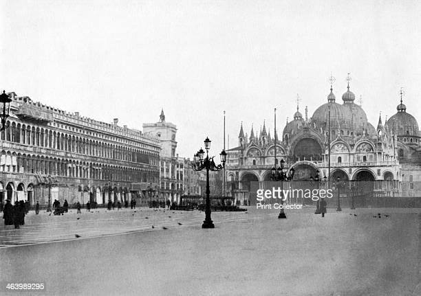 Plaza San Marco Venice Italy 19081909 From Penrose's Pictorial Annual 19081909 An Illustrated Review of the Graphic Arts volume 14 edited by William...