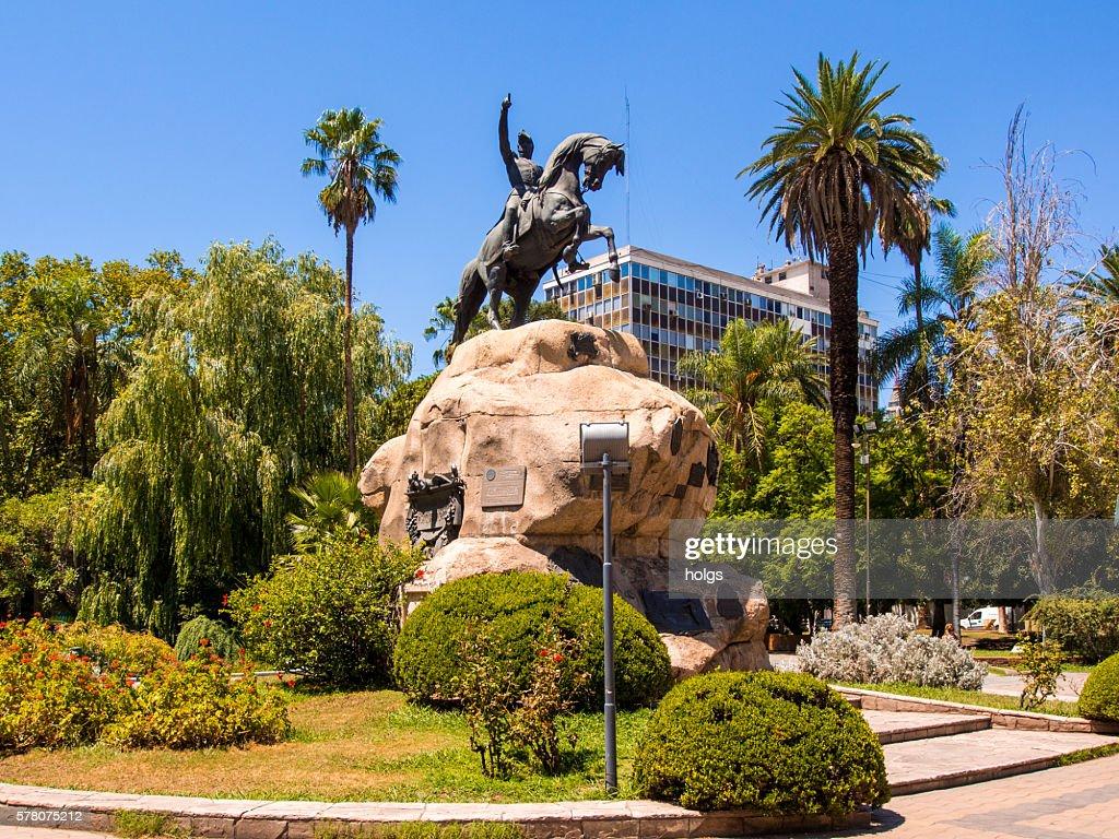 Plaza San Martin : Stock Photo