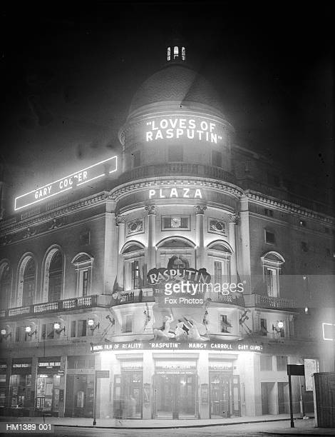 plaza theatre - 1920 1929 stock pictures, royalty-free photos & images
