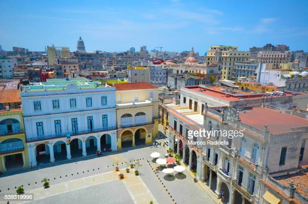 plaza vieja, havana, cuba - radicella stock photos and pictures