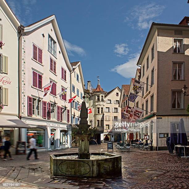 Plazza Old Town Chur,Archaeological evidence of settlement at the site, in the Eastern Alps, goes back as far as the Pfyn culture[3] ,[4] making Chur...