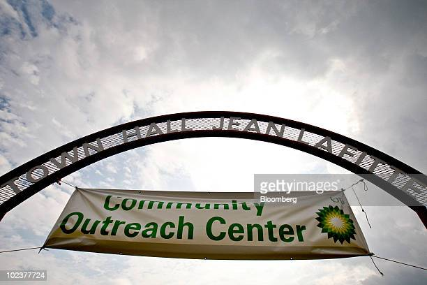 Plc Community Outreach Center where residents can apply for claims as a result of the BP oil spill operates in the Town Hall of Jean Lafitte...