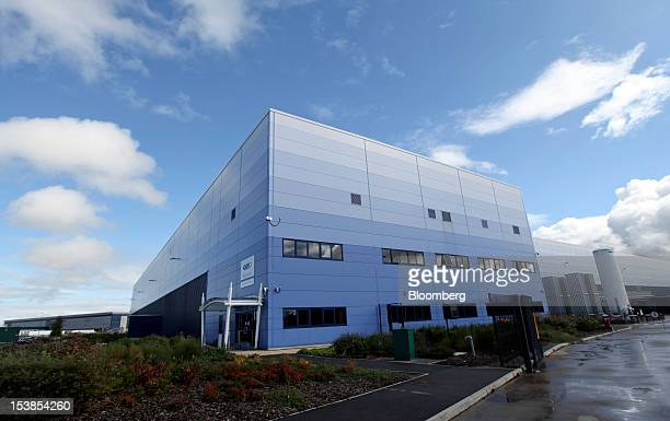 GKN Plc's aerospace factory is seen at Severn Beach UK on Wednesday Sept 12 2012 GKN completed its acquisition of Volvo AB's aircraftengine unit...