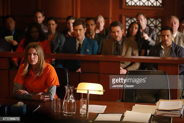 """Plea"""" - Emily enlists Nolan and Jack to help prove her innocence while Ben takes measures to keep her locked up, on """"Revenge,"""" SUNDAY, MAY 3 , on the..."""