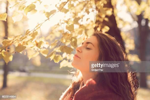 Pleasant, fresh air